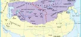 Kök Türk Devleti haritası