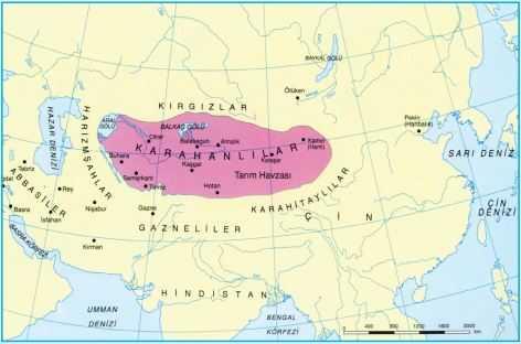 Karahanlılar Haritası