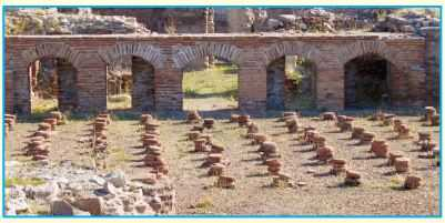 Roma Hamamı'ndan bir görünüm