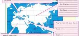 islamiyetin doğuşu sırasında dünya dilsiz harita