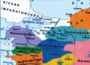 Karesioğulları Beyliği Haritası