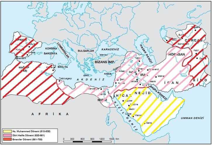 İslam Devleti Sınırları