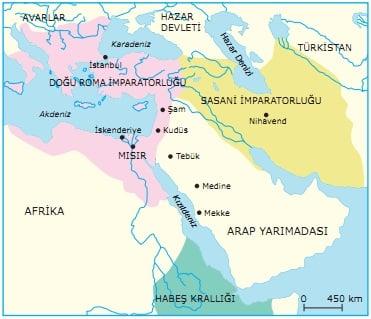İslamiyetin Doğduğu Dönemde Dünya