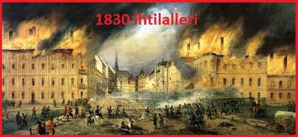1830 İhtilalinin Nedenleri ve Sonuçları