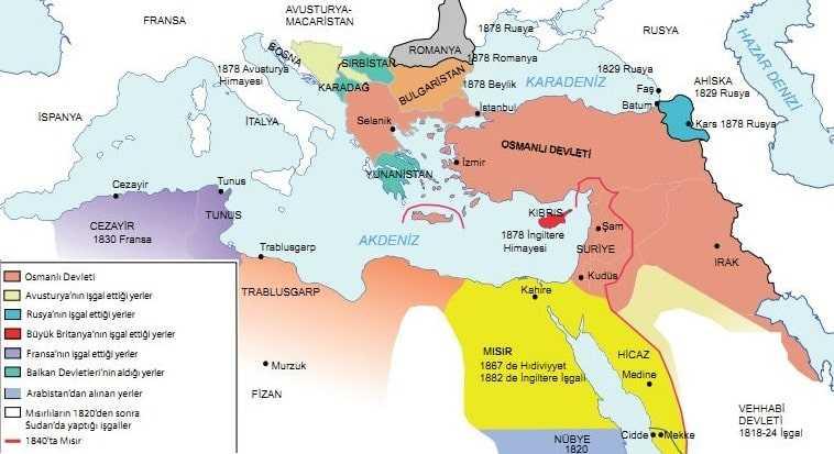 Osmanlı Devleti'nin Siyasi Varlığına Yönelik Tehditler