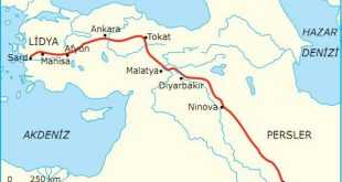 İlk ve Orta Çağda Ticaret Yolları Kral Yolu