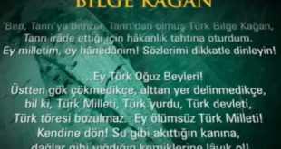 Türk Kitabelerine Göre Güç ve Yönetim Anlayışı