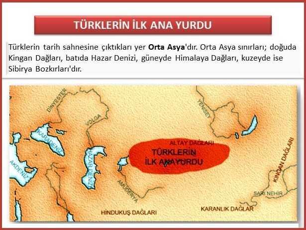 Türklerin İlk Ana Yurdu