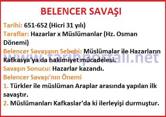 Belencer Savaşı