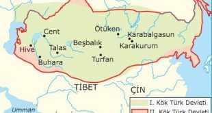 I. Kök Türk Devleti (552-630)