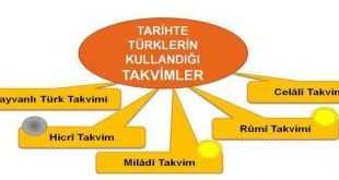 Türklerin Tarih Boyunca Kullandığı Takvimler