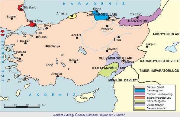 Ankara Savaşı ve Fetret Dönemi (1402-1413)