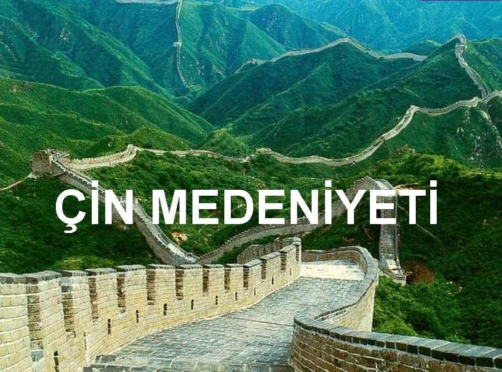 Çin Medeniyeti 9. Sınıf