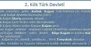 II. Kök Türk (Kutluk) Devleti (682-745)