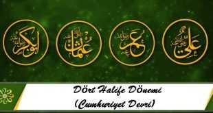 Dört Halife Dönemi (Cumhuriyet Devri)