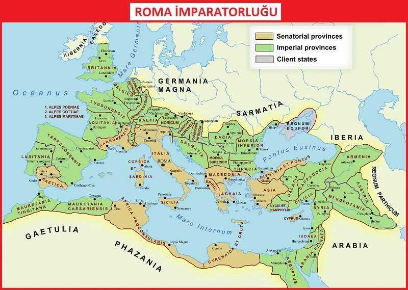 Roma Medeniyetinin Özellikleri Maddeler Halinde