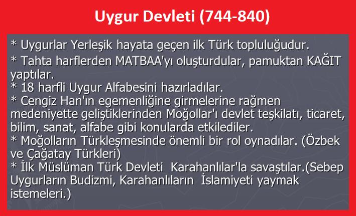 Uygur Devleti (744-840)