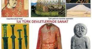 İlk Türk Devletlerinde Sanat Maddeler Halinde
