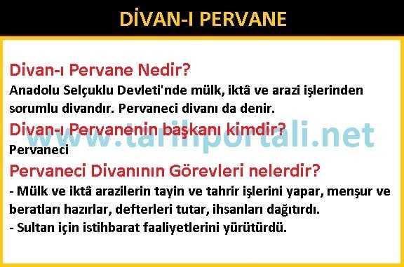 Divan-ı Pervane Nedir? Pervanecinin Görevleri Nelerdir?