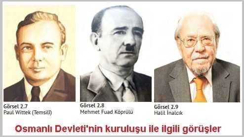 Osmanlı Devleti'nin kuruluşu ile İlgili Görüşler özet 10. sınıf tarih