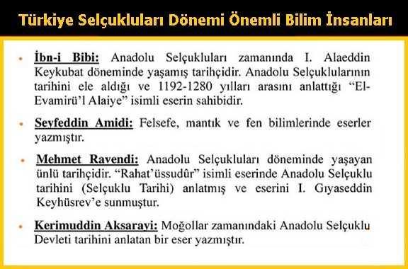 Türkiye Selçuklularında Fikir, Dil ve Edebiyat