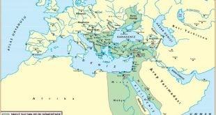 Yavuz Dönemi Osmanlı Sınırları Haritası