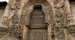 Divriği Ulu Camii taş ilemesi
