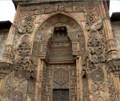 Divriği Ulu Camii taş işlemesi - Osmanlı El Sanatları