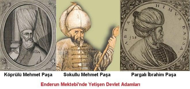 Enderun Mektebi'nde Yetişen Devlet Adamları