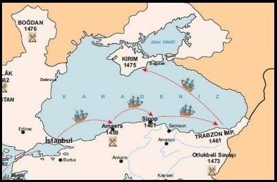 Karadenizin Türk Gölü Haline Gelmesini Sağlayan Fetihler