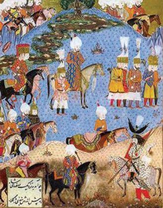 Doğuda Hakimiyet Kurulması - Kanuni'nin İran Seferi (Matrakçı Nasuh)