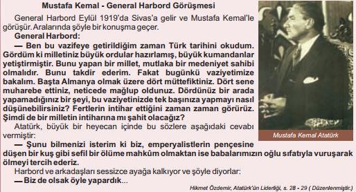 Mustafa Kemal - General Harbord Görüşmesi