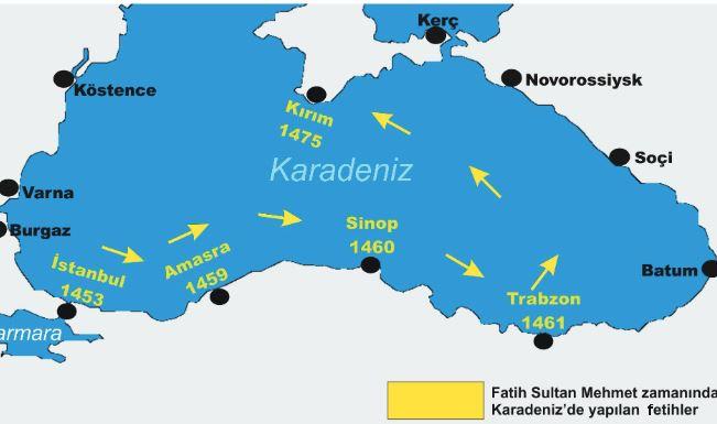 Amasra ve Sinopun Fethinin sebepleri, sonuçları ve izlenen yönetem