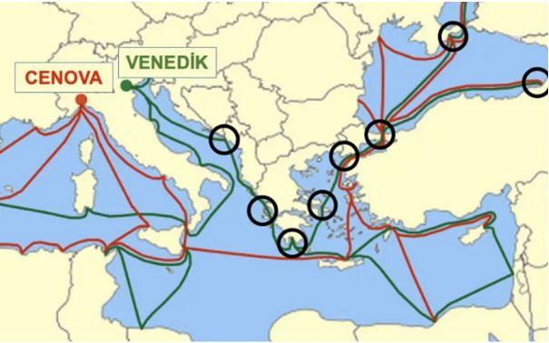 Fatih Sultan Mehmet Dönemi Fetih Politikası (ipek yolunu ele geçirmek için yapılan kritik fetihler)
