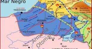 Erzincan Mütarekesine göre Osmanlı'nın doğu sınırı