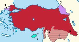 Misak-ı Milliye göre sınırlar