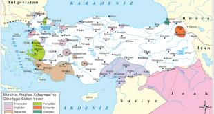 Mondros sonrası itilaf devletlerinin işgal ettiği yerler haritası