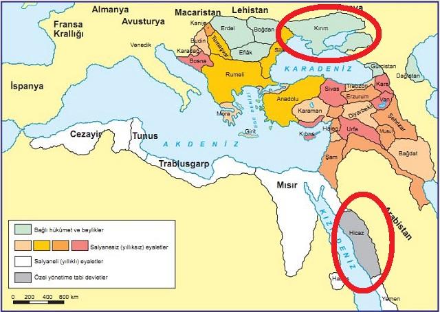 Osmanlı'da Vergi Vermeyen Eyaletler