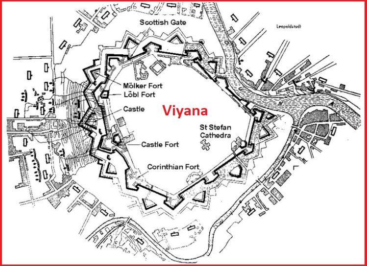Viyana Krokisi 1. Viyana Kuşatması