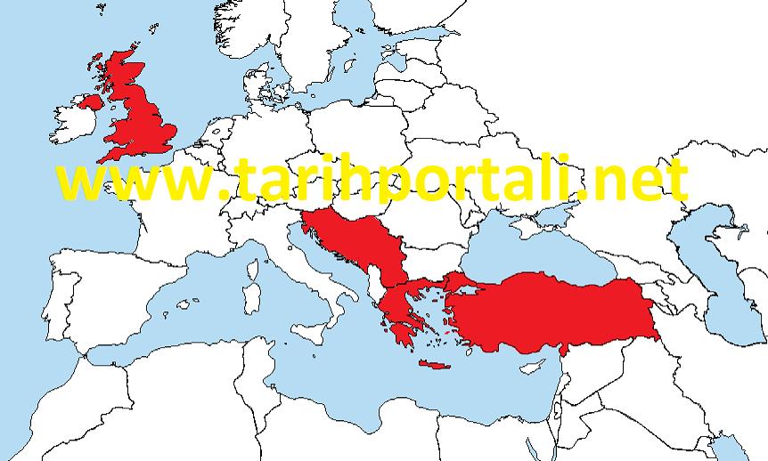 Akdeniz Paktına katılan devletler