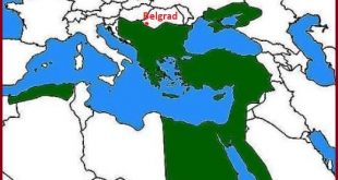 Kanuni Tahta Geçtiğinde Osmanlı Sınırları Haritası