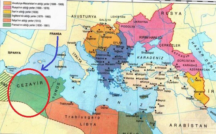 Fransa'nın Cezayir'i İşgali