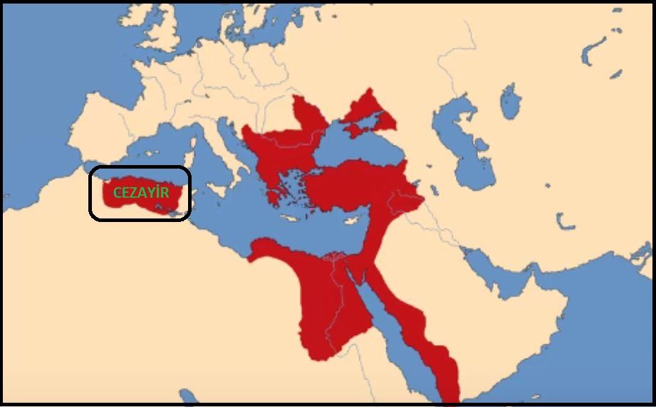 Kanuni Dönemi Osmanlı Haritası