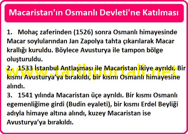 Macaristan Osmanlı Devleti'ne Ne Zaman Katıldı?