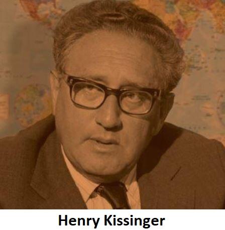 Mekik Diplomasisi: Henry Kissinger