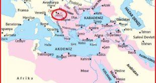 Kanuni dönemi Osmanlı sınırları ve Mohaç Muharebesi