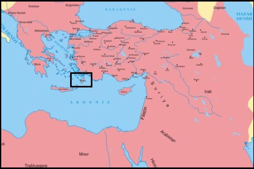 Kanuni döneminde Rodos'un fethi