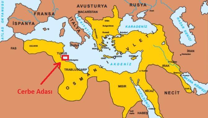 Cerbe Deniz Savaşı'nnı yapıldığı yer neresidir?