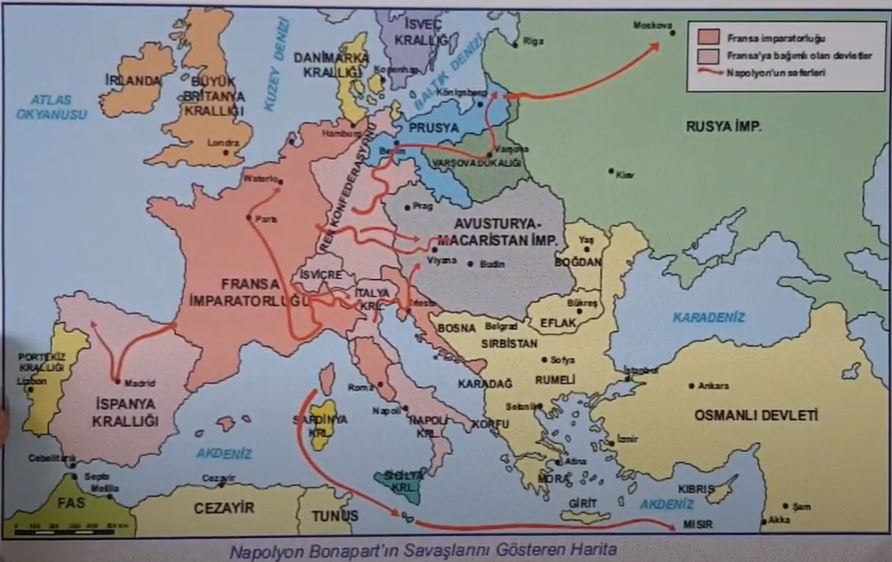 1798-1801 Osmanlı-Fransız Savaşı (Napolyon'un Mısır Seferi)