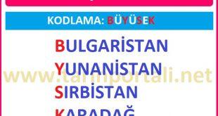1.Balkan Savaşına Katılan Devletler hangileridir?